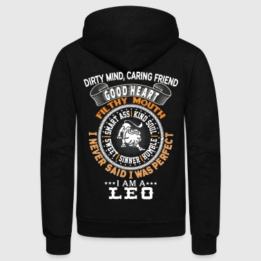 I AM A LEO - Unisex Fleece Zip Hoodie