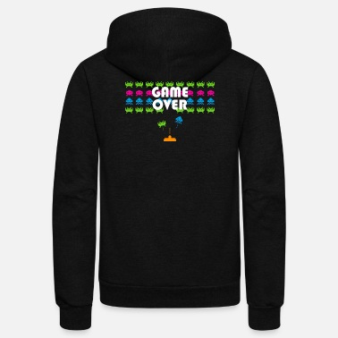 Video Game 80s Video Games - Unisex Fleece Zip Hoodie