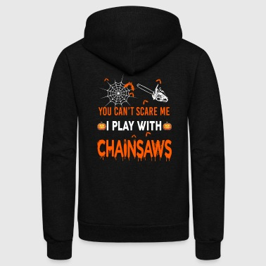 Chainsaws - Unisex Fleece Zip Hoodie
