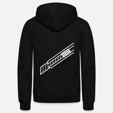 Ladder Ladders - Unisex Fleece Zip Hoodie