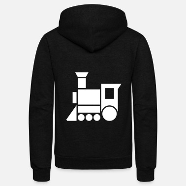 Steam Engine Steam Engine - Unisex Fleece Zip Hoodie