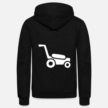 Lawnmower Lawnmower - Unisex Fleece Zip Hoodie
