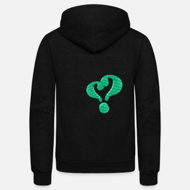 question love green - Unisex Fleece Zip Hoodie