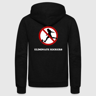 Kicker Eliminate Kickers - Unisex Fleece Zip Hoodie