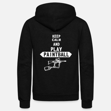 Paintball paintball - Unisex Fleece Zip Hoodie