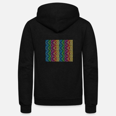 Colourful colours - Unisex Fleece Zip Hoodie