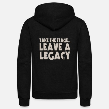 Stage Take The Stage - Unisex Fleece Zip Hoodie