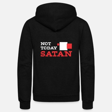 Satan related - Unisex Fleece Zip Hoodie