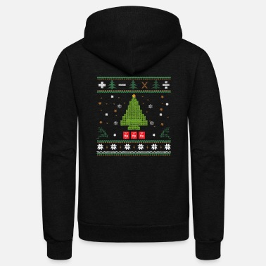 Ugly Christmas christmas - Unisex Fleece Zip Hoodie