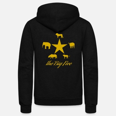 Safari Safari - Unisex Fleece Zip Hoodie