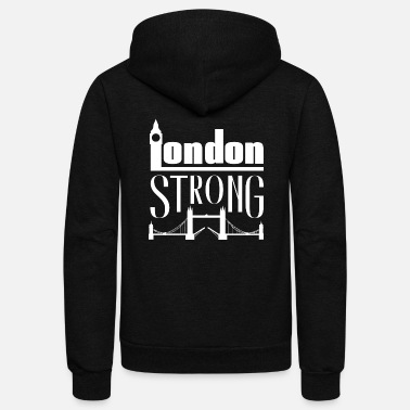 London London - London Strong - Unisex Fleece Zip Hoodie