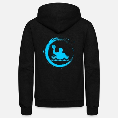Sports Water water polo sport water sports - Unisex Fleece Zip Hoodie