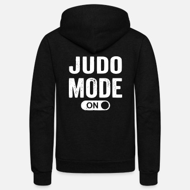 Judo judo mode on - Unisex Fleece Zip Hoodie