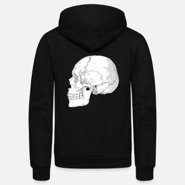January Skull - Unisex Fleece Zip Hoodie