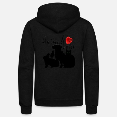 Animal Animal Lover - Unisex Fleece Zip Hoodie