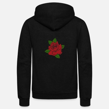 Rose Rose - Unisex Fleece Zip Hoodie