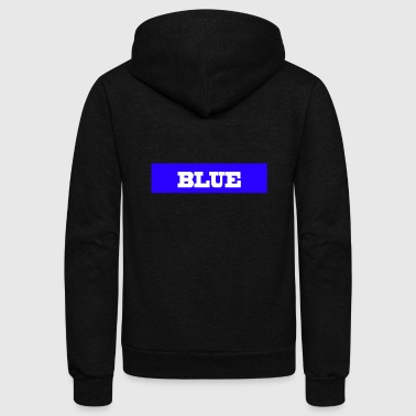 Blues BLUE - Unisex Fleece Zip Hoodie