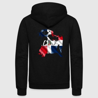 Dominican Republic Dominican Republic - Unisex Fleece Zip Hoodie