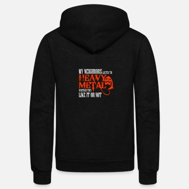 Metal Heavy Metal - Unisex Fleece Zip Hoodie