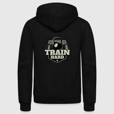 Fitness Shirt - Unisex Fleece Zip Hoodie
