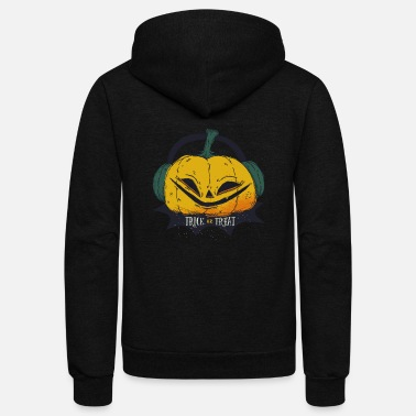 Halloween Halloween Pumpkin - Unisex Fleece Zip Hoodie