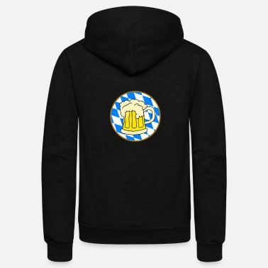 Bavarian Bavarian beer, best beer in the world. - Unisex Fleece Zip Hoodie