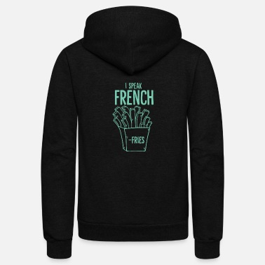 Fries French Fries - Unisex Fleece Zip Hoodie