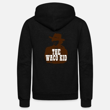 Saddle The Waco Kid - Blazing Saddles - Unisex Fleece Zip Hoodie