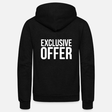 Offer Exclusive Offer - Unisex Fleece Zip Hoodie