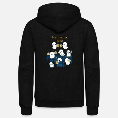 Sports Time For More Boos - Unisex Fleece Zip Hoodie