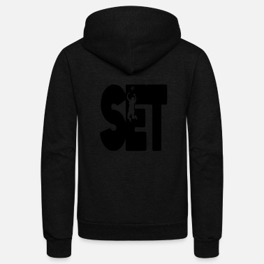 Set Set - Unisex Fleece Zip Hoodie