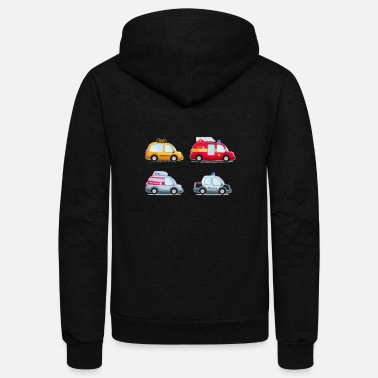 car - Unisex Fleece Zip Hoodie
