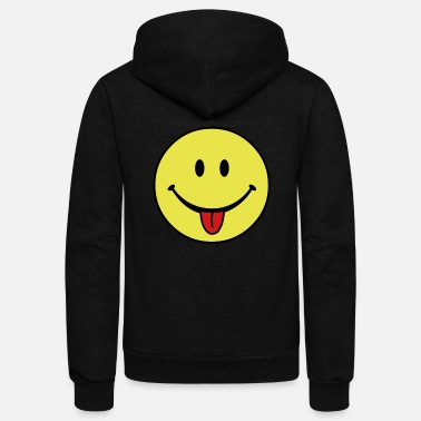 Fun smiley - Unisex Fleece Zip Hoodie