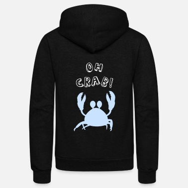 North Sea Oh Crab Sea Crabs North Sea - Unisex Fleece Zip Hoodie