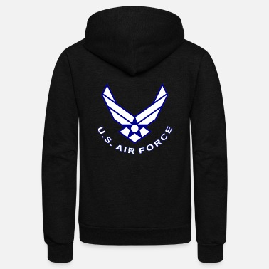 Air Air Force - Unisex Fleece Zip Hoodie