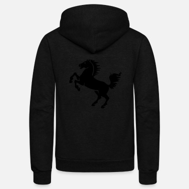 Stallion stallion - Unisex Fleece Zip Hoodie