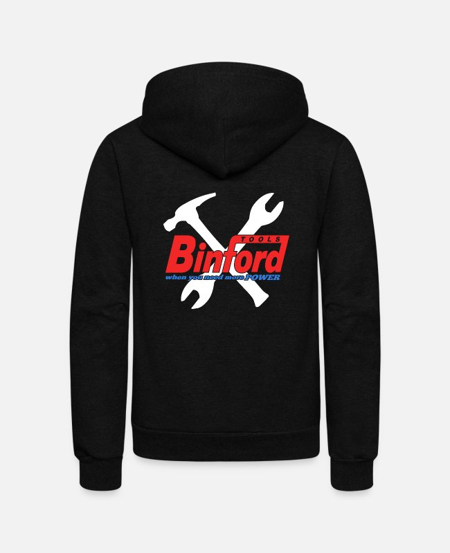 Movie Hoodies & Sweatshirts - binford 1 - Unisex Fleece Zip Hoodie black
