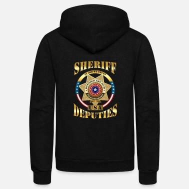 Sheriff Sheriff - Sheriff - In God we trust. USA deputies - Unisex Fleece Zip Hoodie