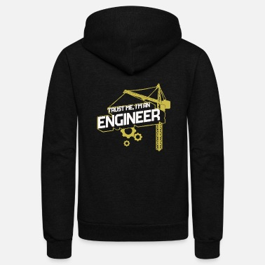 Civil Civil Engineer - Civil Engineer - Unisex Fleece Zip Hoodie