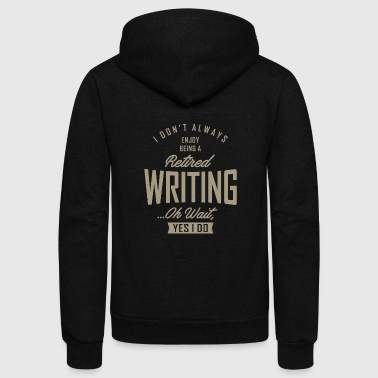Writing - Unisex Fleece Zip Hoodie