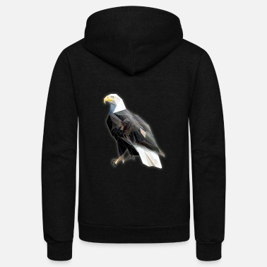 Bald Eagle Bald Eagle - Unisex Fleece Zip Hoodie