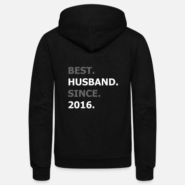 Husband Husband - Unisex Fleece Zip Hoodie