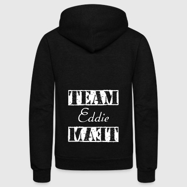 Team Eddie - Unisex Fleece Zip Hoodie