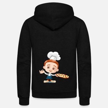 Pizzeria pizza pizzeria food essen restaurant5 - Unisex Fleece Zip Hoodie