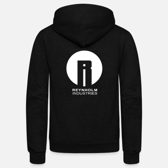 Crowd Hoodies & Sweatshirts - crowd - Unisex Fleece Zip Hoodie black