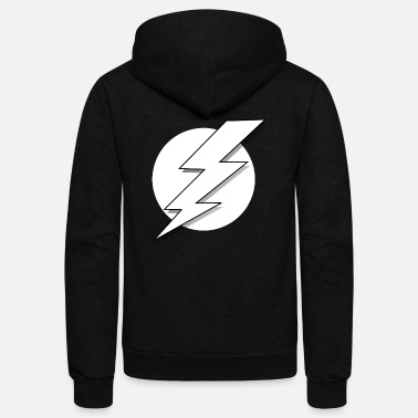 Lightning Lightning - Unisex Fleece Zip Hoodie