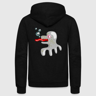 sea monster - Unisex Fleece Zip Hoodie