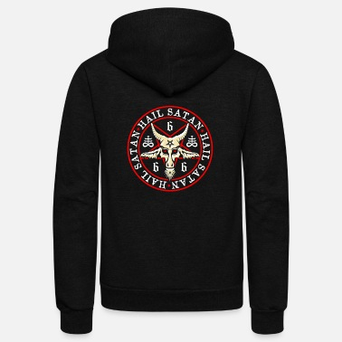 Occult satanic - Unisex Fleece Zip Hoodie