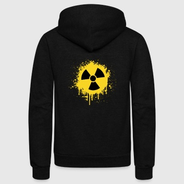 RadioActive Old School - Unisex Fleece Zip Hoodie