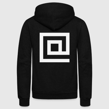 At Squared - Unisex Fleece Zip Hoodie